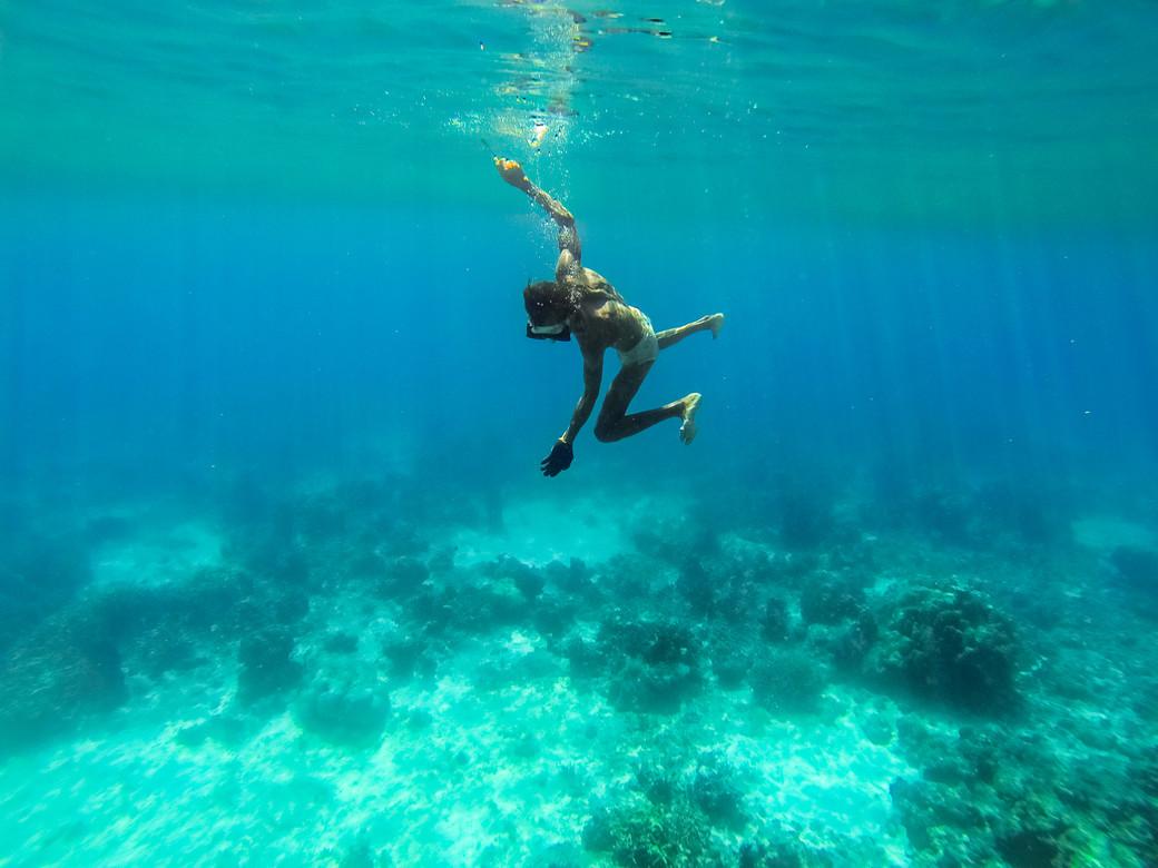 Bajau freediving Sulawesi