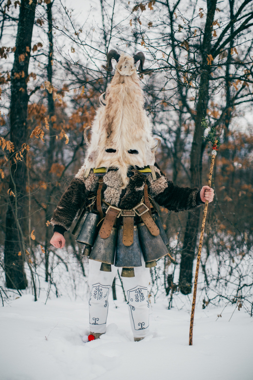 Bulgaria kukeri monster pagan