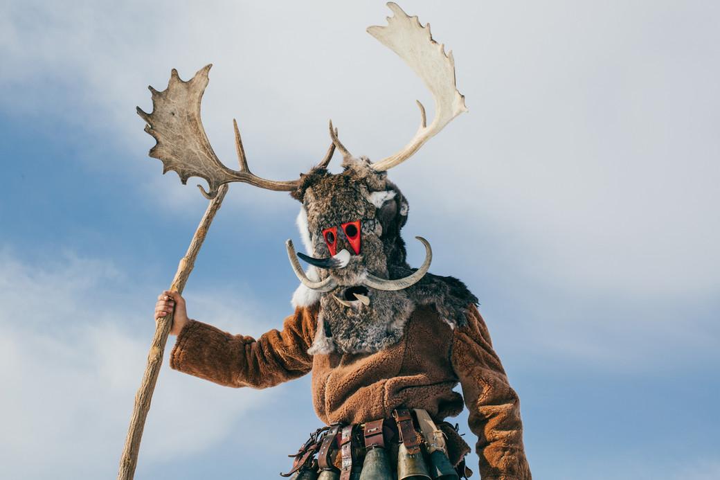 antlers Bulgarian monster pagan