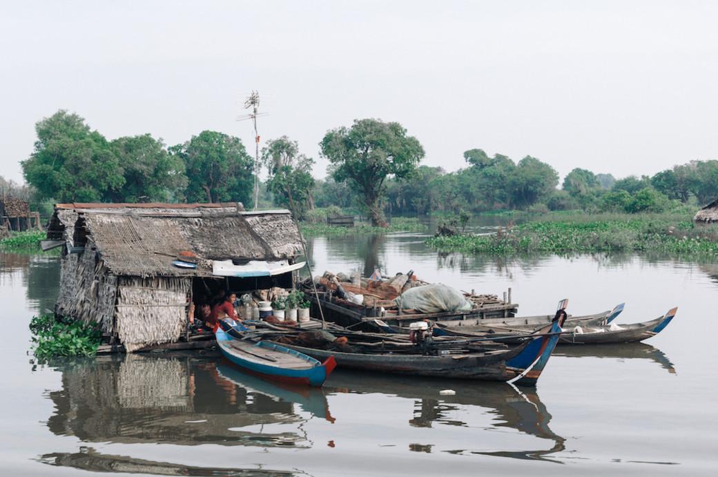 houseboat Cambodia Siem Reap